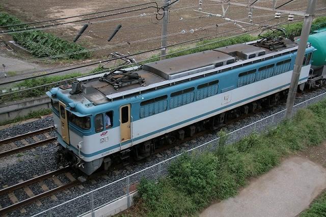 EF65-1127屋根