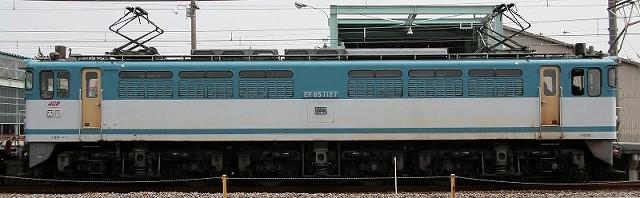 EF65-1127側面